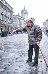 Dans les rues d'Edimbourg
