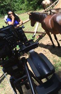 Tournage chez Françoise Denis et son poney club à Rio