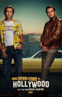 "Affiche du film ""Once upon a time ... in Hollywood"""