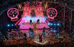 Show du chanteur américain Miguel et de la mexicaine Natalia Lafourcade