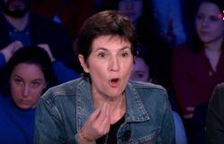 Christine Angot visiblement énervée...