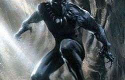 Black Panther en costume