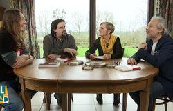 Gorian Delpâture, Michel Dufranne, Danièle Carpet et Thierry Bellefroid