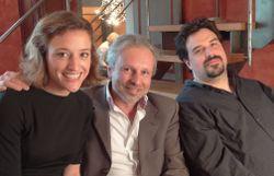Daphné Van Ossel, Thierry Bellefroid et Michel Dufranne