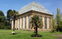 Orangerie jardin botanique Edimbourg