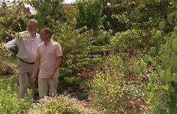 François n'est jamais avare d'explications sur son jardin