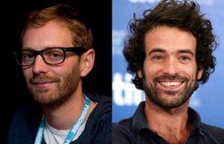 Le réalisateur belge Guillaume Senez et Romain Duris