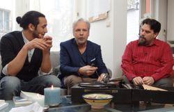 Toufik Cherifi, Thierry Bellefroid et Michel Dufranne