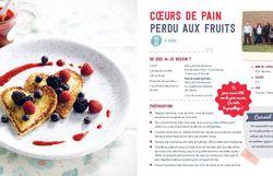 COEURS DE PAIN PERDU AUX FRUITS