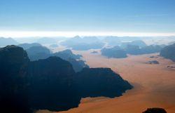 """Désert de """"Wadi Rum"""", Jordanie"""