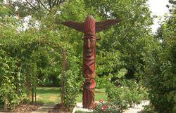 Le jardin du totem de Véronique et Jean-Louis