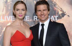 """En 2014 avec la belle Emily Blunt pour la sortie """"Edge Of Tomorrow""""... un autre film d'action !"""
