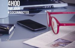 Blueberry Glasses, les lunettes qui protègent vos yeux des écrans