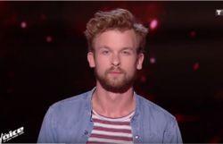 Théophile Renier tente sa chance à The Voice France