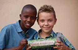 John et Khyl en Tanzanie
