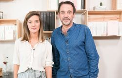 Elodie Deceuninck et Michel Bussi
