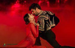 "Agustín Galiana et sa partenaire Candice dans ""Danse avec les stars"""