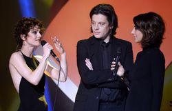 Le couple, lors des Victoires de la Musique en 2014