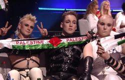 L'Islande huée pour avoir brandi le drapeau palestinien lors de la finale de l'Eurovision