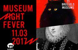 La Museum Night Fever à Bruxelles le 11/3