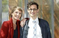 Caroline Veyt et Patrick Leterme