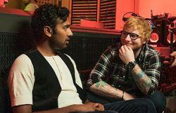"Himesh Patel et Ed Sheeran dans ""Yesterday"""