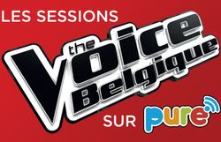 Les Sessions The Voice Belgique sur Pure : votez pour votre Talent préféré