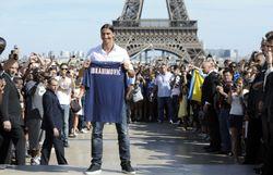 En 2012, l'arrivée de Zlatan Ibrahimovic au PSG.