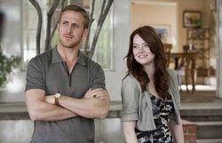 Ryan Gosling à moitié nu empêche Emma Stone de jouer