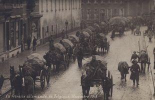 L'armistice du 11 novembre 1918 et les lendemains de guerre
