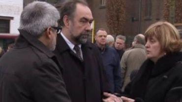 La présence de Marc Descheemaeker a perturbé la cérémonie d'hommage aux victimes.
