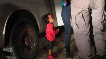 Des enfants séparés de leurs parents à la frontière entre le Mexique et les Etats-Unis