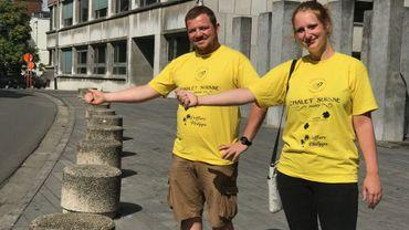 Mons: Chloé et Alexandre ont cinq jours pour rallier Barcelone en auto-stop