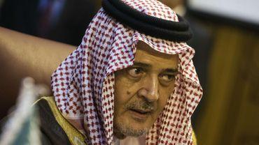"""Pour le prince Saoud Al-Fayçal, ministre des Affaires étrangères, """"il est temps de demander à la communauté internationale de prendre des mesures de dissuasion""""."""
