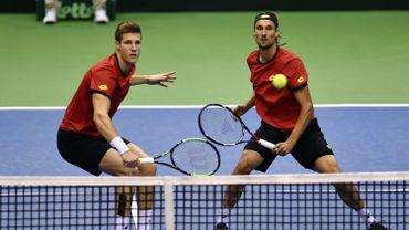 Le double belge battu 3-2 par la Hongrie, la qualification se jouera dimanche