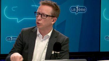 Pierre Hermant, chroniqueur sur La Première et CEO de Deficom.