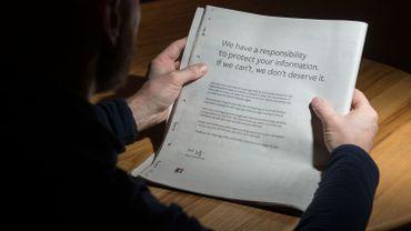 Facebook s'offre une pleine page de pub dans 6 journaux pour s'excuser à nouveau