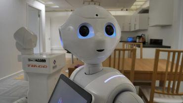 Les scientifiques d'une université écossaise ont programmé des robots, dont Pepper.