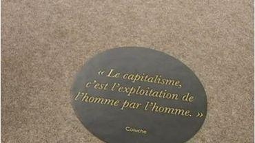 Le Musée du Capitalisme ferme ses portes à Namur, et cherche un lieu pour se poser à Bruxelles.