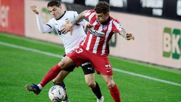 Carrasco et l'Atlético Madrid continuent sur leur lancée en gagnant à Valence
