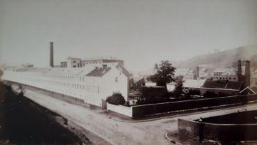 Les usines Simonis qui ont fait la gloire du textile verviétois pendant plus d'un siècle et demi.