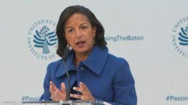 USA : Susan Rice, ex-conseillère d'Obama, dément les accusations d'écoutes
