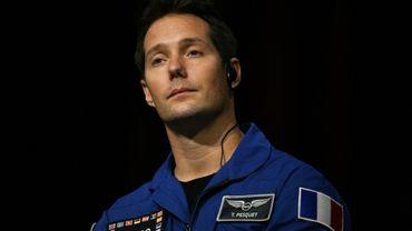 L'astronaute français Thomas Pesquet lors d'une conférence de presse en septembre 2019 à Tokyo