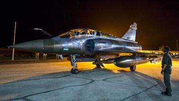 Syrie: la France bombarde massivement le fief de l'Etat islamique à Raqa