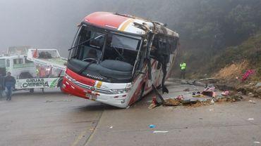 Accident de bus en Equateur