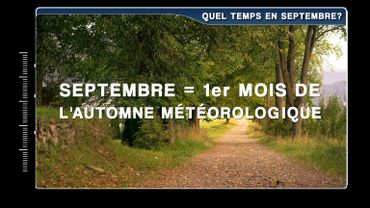 Quel temps fait-il en septembre?