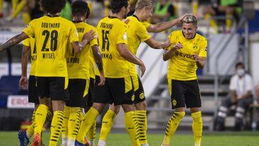 Dortmund déroule en Coupe à Duisburg avec un but de Thorgan Hazard