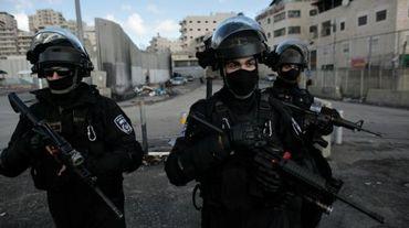 Des membres des forces de sécurité israéliennes à Jérusalem le 2 décembre 2015