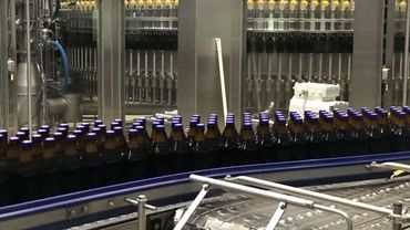 55.000 bouteilles défilent par heure à la brasserie de Chimay