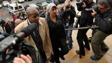 Nafissatou Diallo arrive à la dernière audience du procès